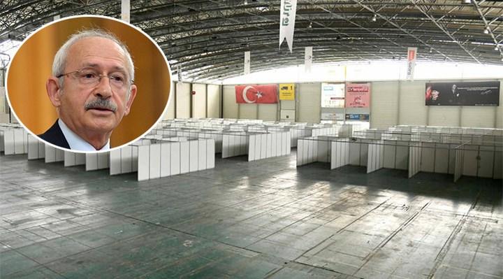 CHP'nin Sahra Hastanesi yalan oldu! Paravanlar çöpe gitti