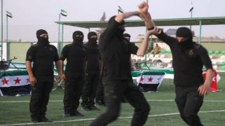 Suriye Milli Ordusu Özel Kuvvetleri yemininde dikkat çeken 'Türkiye' detayı