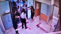 Polislere saldırmıştı, bu kez adliyeyi birbirine kattı!