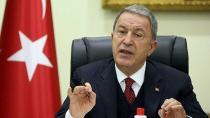 Hulusi Akar Ermenistan'a seslendi! 'Saldırıları durdurun!'