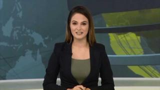 Canlı yayında gözyaşlarını tutamayan Azeri spiker
