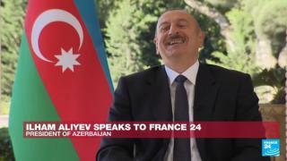 Aliyev'i güldüren o soru!