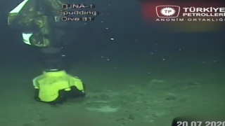 Tuna-1 Kuyusu'ndan ilk görüntüler geldi...