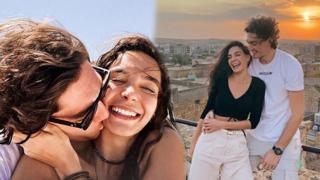 Cedi Osman, Ebru Şahin'le olan aşkını paylaştı
