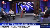 CHP'nin Halk TV'si Macron ve Merkel'e sahip çıktı!