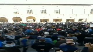 İtalya Bologna'da sokağa çıkma yasağına protesto!