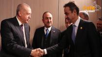 Erdoğan ve Miçotakis depremle ilgili görüşme yaptı