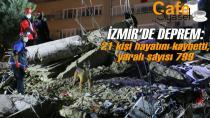 İzmir depreminde 21 kişi hayatını kaybetti, yaralı sayısı 799