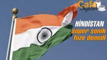 Hindistan'dan başarılı hipersonik füze denemesi