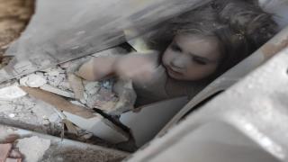 91 saat sonra enkazdan kurtarılan Minik Ayda'nın görüntüleri