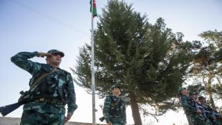 Azerbaycan bayrağı 28 yıl sonra Suşa'da dalgalandı