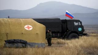 Rusya Savunma Bakanlığı, Karabağ'da sahra hastanesi kurdu