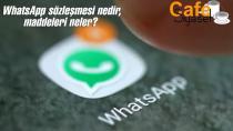 WhatsApp sözlşemesi nedir, maddeleri neler? 2021 WhatsApp gizlilik protokolü nasıl iptal edilir