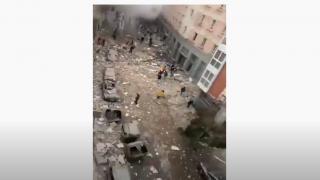 İspanya Madrid'de şiddetli patlama - İşte ilk görüntüler