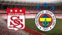 Sivasspor - Fenerbahçe maçı hangi kanalda? Sivasspor - Fenerbahçe muhtemel 11