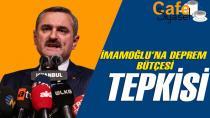 Bayram Şenocak: İmamoğlu deprem bütçesini 350 milyon liraya indirdi!