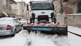 Sultanbeyli Belediyesi'nde kış çalışmaları aralıksız devam ediyor