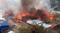 Nepal'de yangın faciası