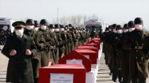 11 askerimiz için Ankara'da devlet töreni düzenlendi