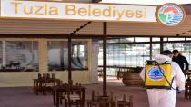 Tuzla'da sosyal tesisler yeni normale hazırlanıyor