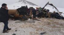 Bitlis'teki helikopter kazasında ön rapor açıklandı! Kaza sebebi...