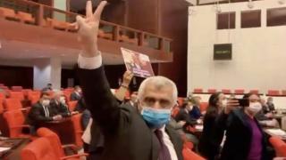 Ömer Faruk Gergerlioğlu'ndan skandal PYD sloganı!