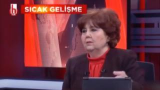 Halk TV'de fıkra gibi yayın! Düşen yıldırımdan Erdoğan'ı sorumlu tuttular