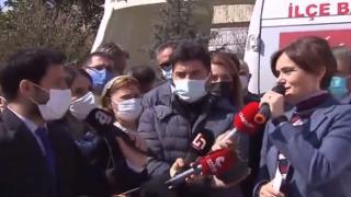 Canan Kaftancıoğlu, muhabirin sorusu karşısında rezil oldu!