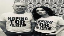 Eric Cantona Filistin'e destek oldu