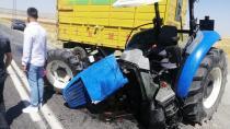 Traktör ikiye ayrıldı: 3 yaralı