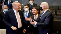 Cumhurbaşkanı Erdoğan ile Biden arasındaki ilk görüşme gerçekleşti