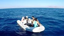 Bodrum'da 7 düzensiz göçmen kurtarıldı