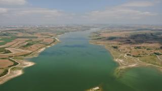 Kanal İstanbul'un temelinin atılacağı alan havadan görüntülendi