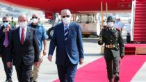 Cumhurbaşkanı Erdoğan KKTC'de! Beklenen müjdeyi açıklayacak