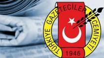 Türkiye Gazeteciler Cemiyeti fondaş medyaya sahip çıktı