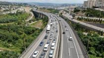Bayram tatilinin son gününde trafik yoğunluğu! Kilometrelerce kuyruk oluştu