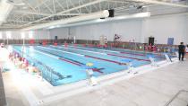 Eyüpsultan Belediyesi'nin ilk havuzu açıldı
