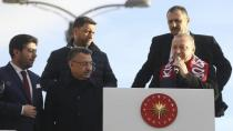 Cumhurbaşkanı Erdoğan rekortmen başkanı kabul etti