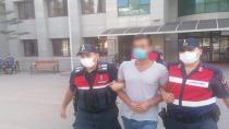 Ormanı yakarken suçüstü yakalanan zanlı tutuklandı