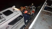 Van Gölü'nü şişme botlarla geçmeye çalışan kaçak göçmenler yakalandı