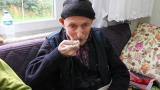 110 yaşındaki Dursun Ali dede uzun yaşamın sırrını anlattı