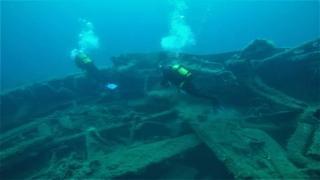 106 yıl önce batan savaş gemileri turizme açıldı