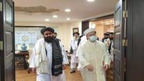 Diyanet İşleri Başkanı Erbaş Taliban heyetini ağırladı