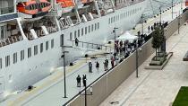 Galataport İstanbul'a ikinci yolcu gemisi demir attı
