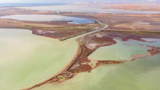 Göksu Deltası Kuş Cenneti'nin muhteşem görüntüsü