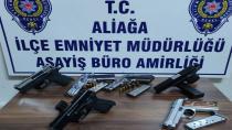 İzmir'de silah kaçakçılarına baskın: 5 tutuklama