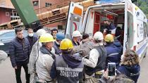 Maden işçisi göçükten 5 saat sonra sağ kurtarıldı